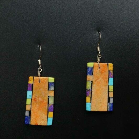 Mary Tafoya Mosaic Earrings