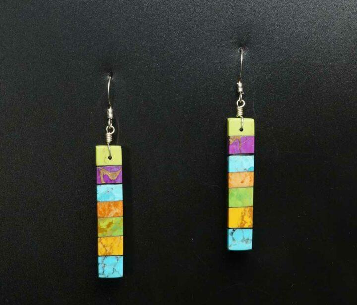 Mary Tafoya stacked earrings