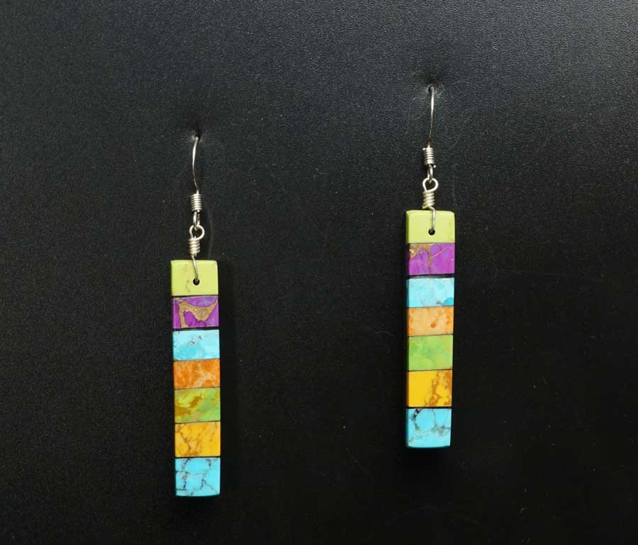 Mary Tafoya stacked earrings