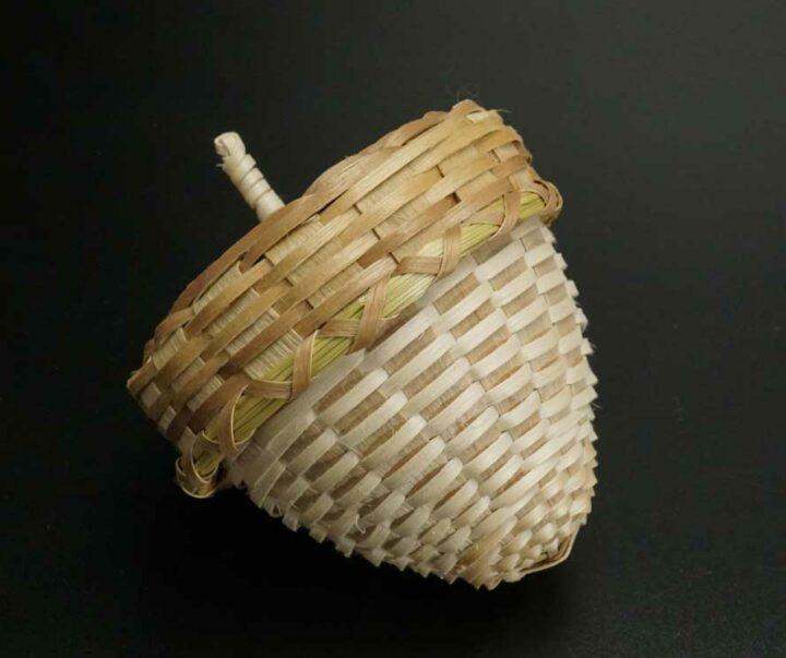 Butch Jacobs acorn basket