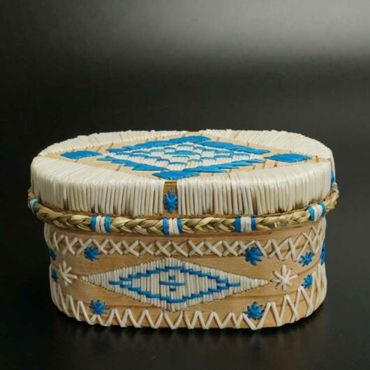 Dale Dana Quilled Birch Bark Container