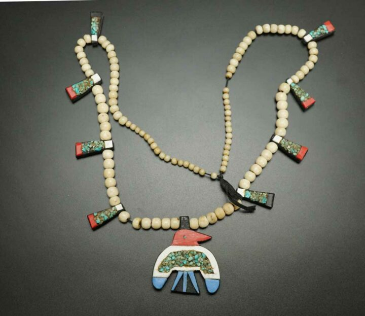 Depression Era Thunderbird Necklace 2