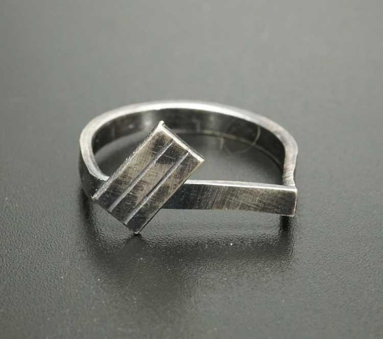 Margaret Jacobs Geometric Design Ring