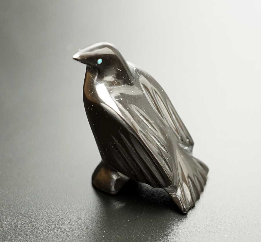 Pedia Nastacio Black Marble Raven