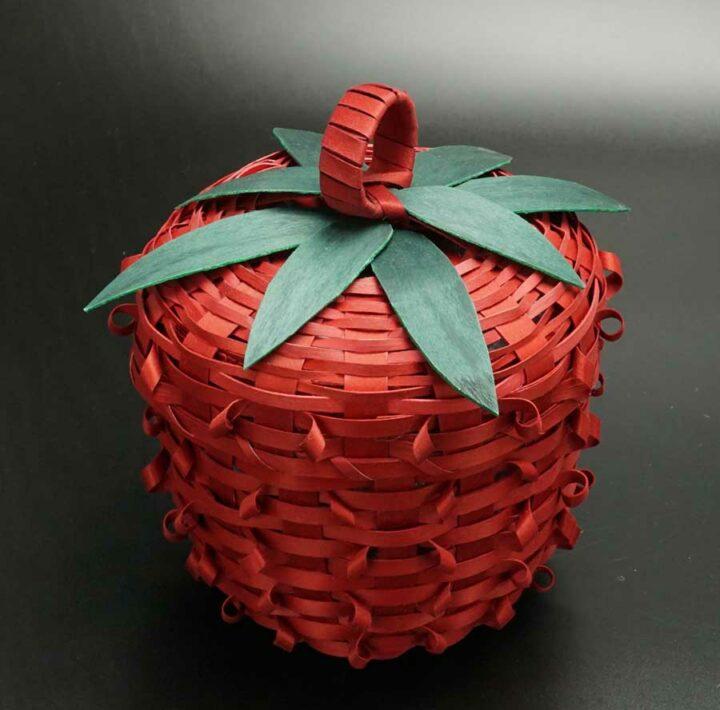 Rae Skenandore strawberry basket