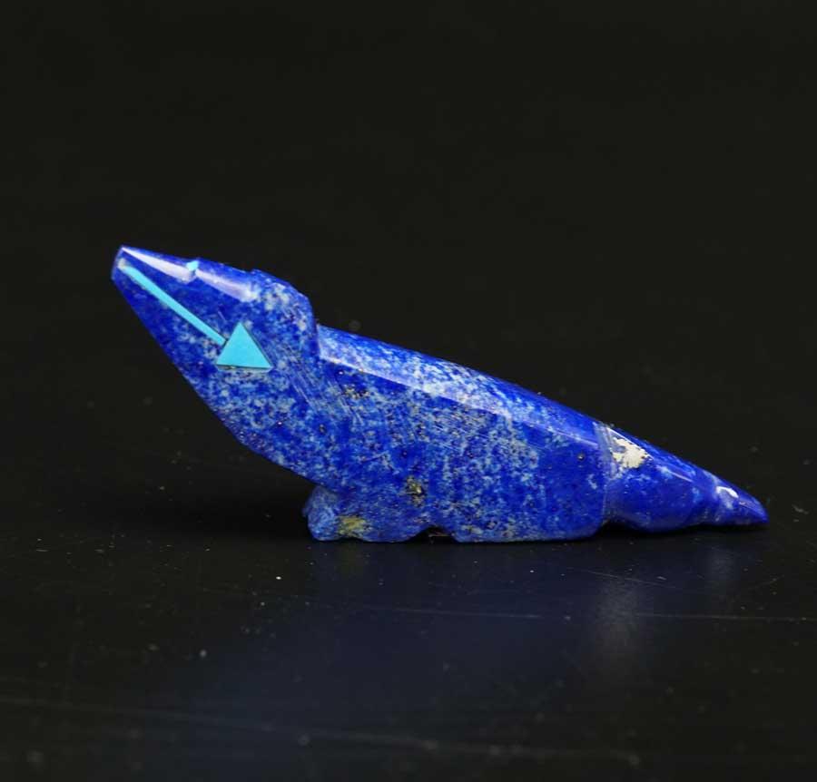 Abby Quam Lapis Lazuli Coyote