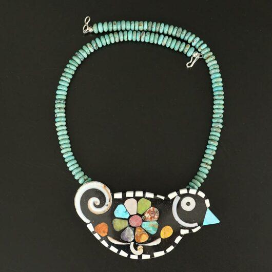 Mary Tafoya Bird Necklace 2