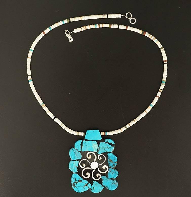 Mary Tafoya Turquoise Nugget Necklace