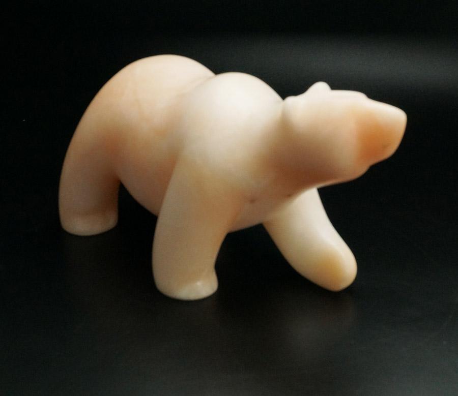 Gabe Sice Peach Alabaster Bear