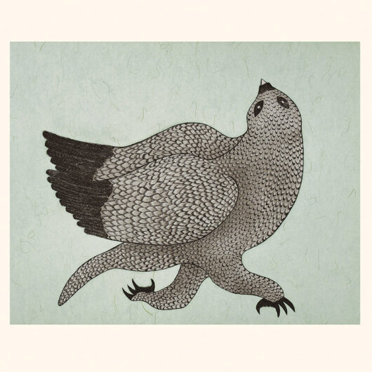 QUVIANAQTUK PUDLAT Running Owl