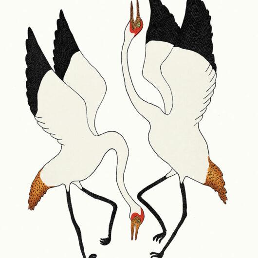 Quvianaktuq Pudlat Dancing Cranes