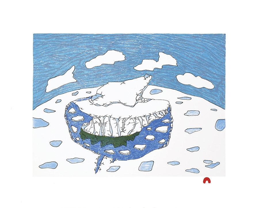 Ooloosie Saila Solitary Iceberg