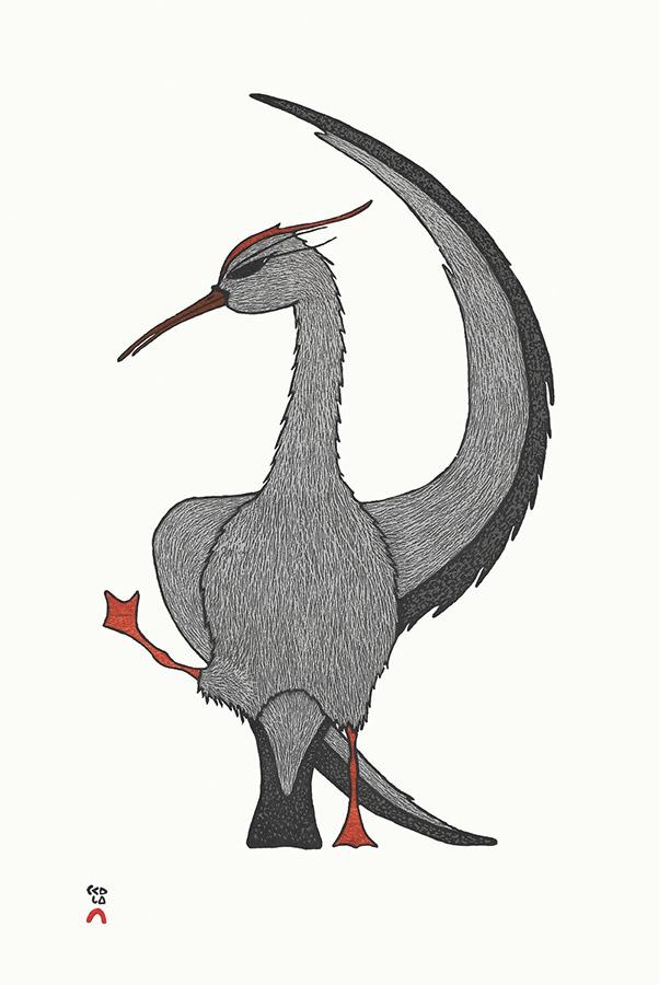 PADLOO SAMAYUALIEStretching Crane