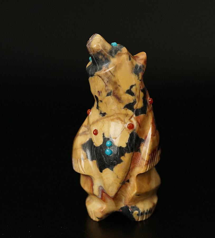 Claudia Peina Zuni Fetishes Marble Bear
