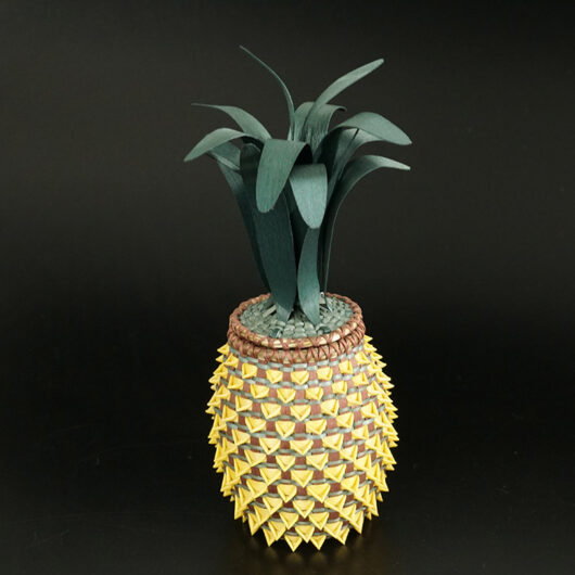 Ganessa Frey Penobscot pineapple basket