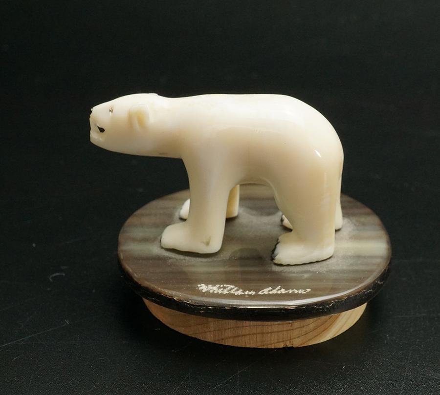Alaskan Native Ivory Bear Carving