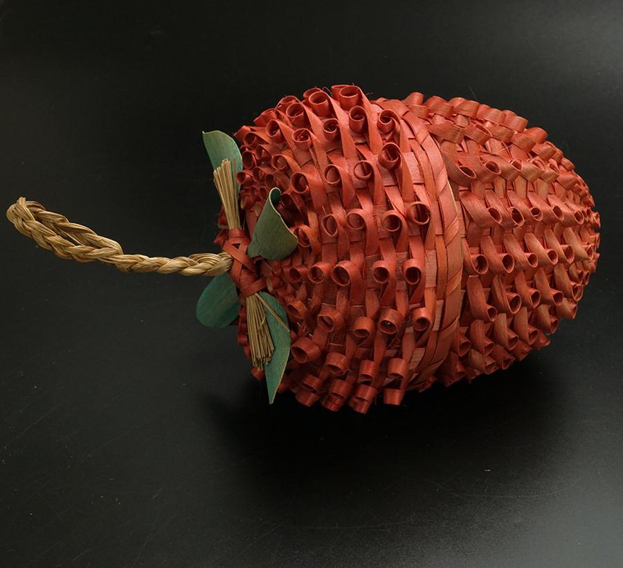 Molly Neptune Parker Passamaquoddy/Wabanaki Strawberry Basket