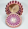 Wabanaki Point Basket Ganessa Frey Penobscot Artist ME00555-4