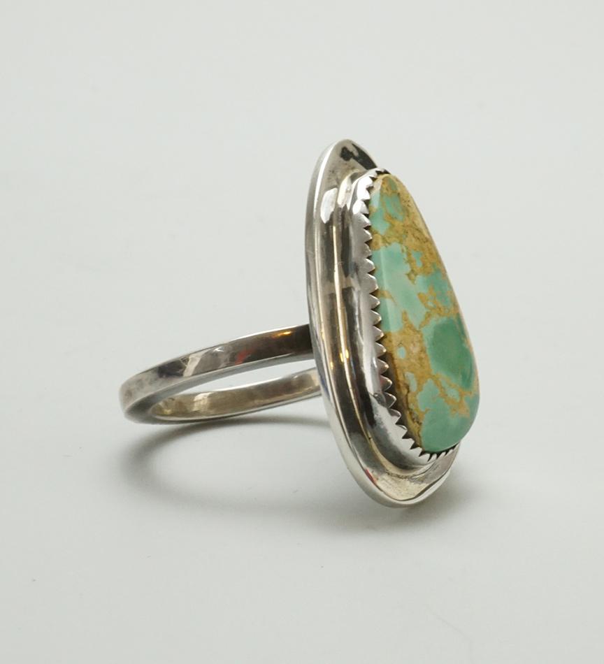 Laguna Pueblo Chris Pruitt Royston Turquoise Ring