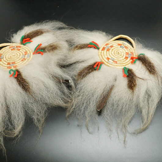 Alaskan Native Art Yup'ik Woven Dance Fans