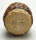 Passamaquoddy Baskets Clara Keezer Diagonal Stripe 3 inch ME00563-4