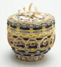 Doris Chapman Passamaquoddy Basket Maker 4 Inch Wabanaki Basket