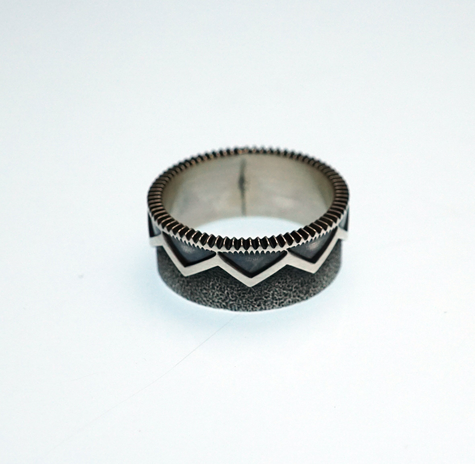 Native American Jewelry Jacob D. Morgan Sterling Silver Ring