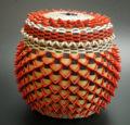 Ganessa Frey Penobscot Wabanaki Baskets 6 inch point basket ME00570-1