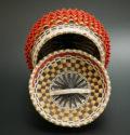 Ganessa Frey Penobscot Wabanaki Baskets 6 inch point basket ME00570-4