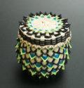Penobscot basket Ganessa Frrey Miniature Point Basket ME00569-1