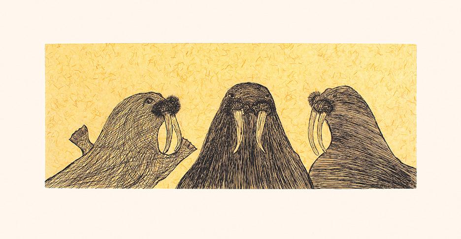 Walrus Love by Qiatsuk Ragee