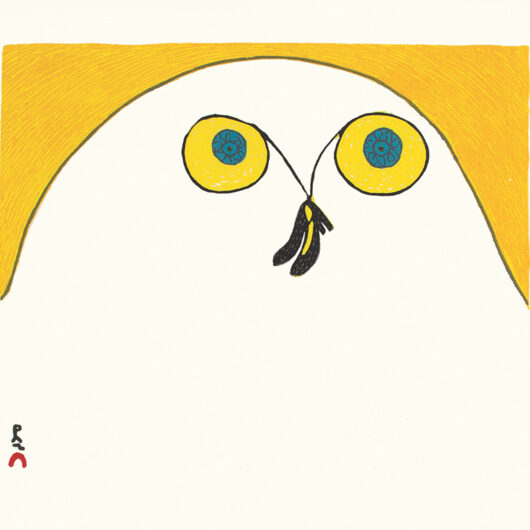 Strutting Owl by Ningiukuluk Teevee