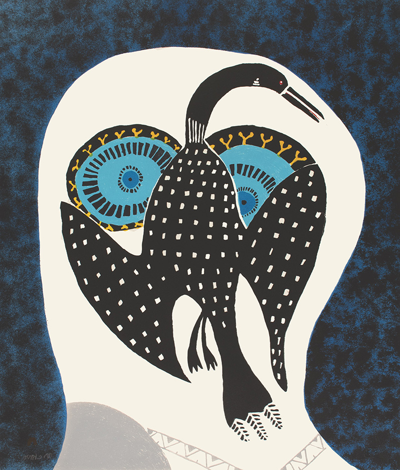 Owls Dreams of Loon by Nngeokuluk Teevee