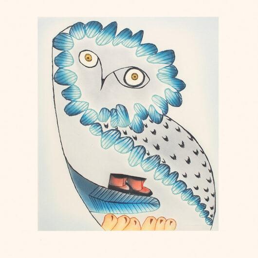 Owl's Bequest by Ningiukuluk Teevee