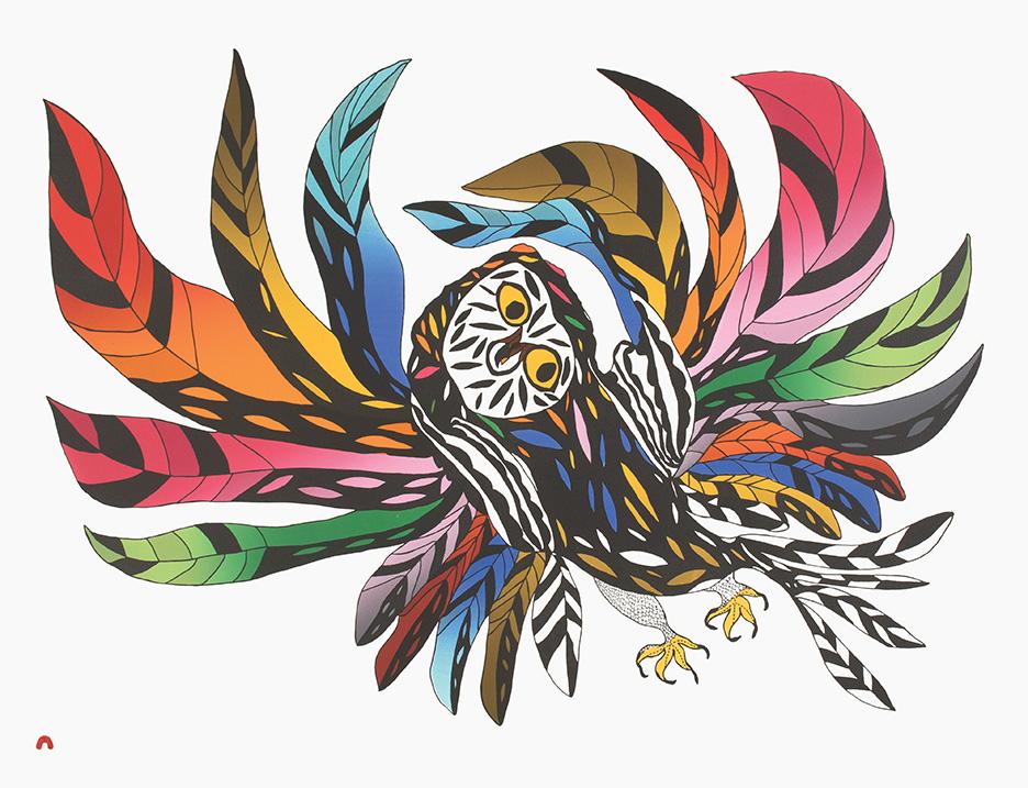 Festive Owl by Oolosie Saila