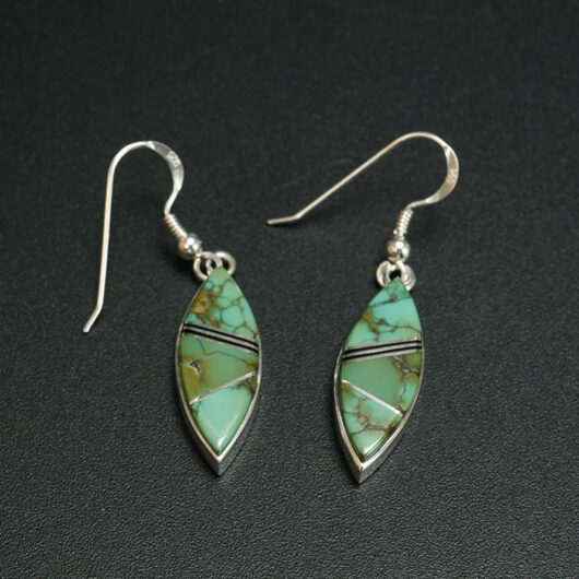 Native American Jewelry Natural Turquoise Earrings Earl Plummer