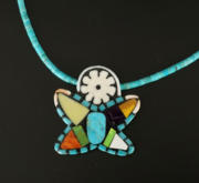Mary Tafoya Mosaic Star Necklace